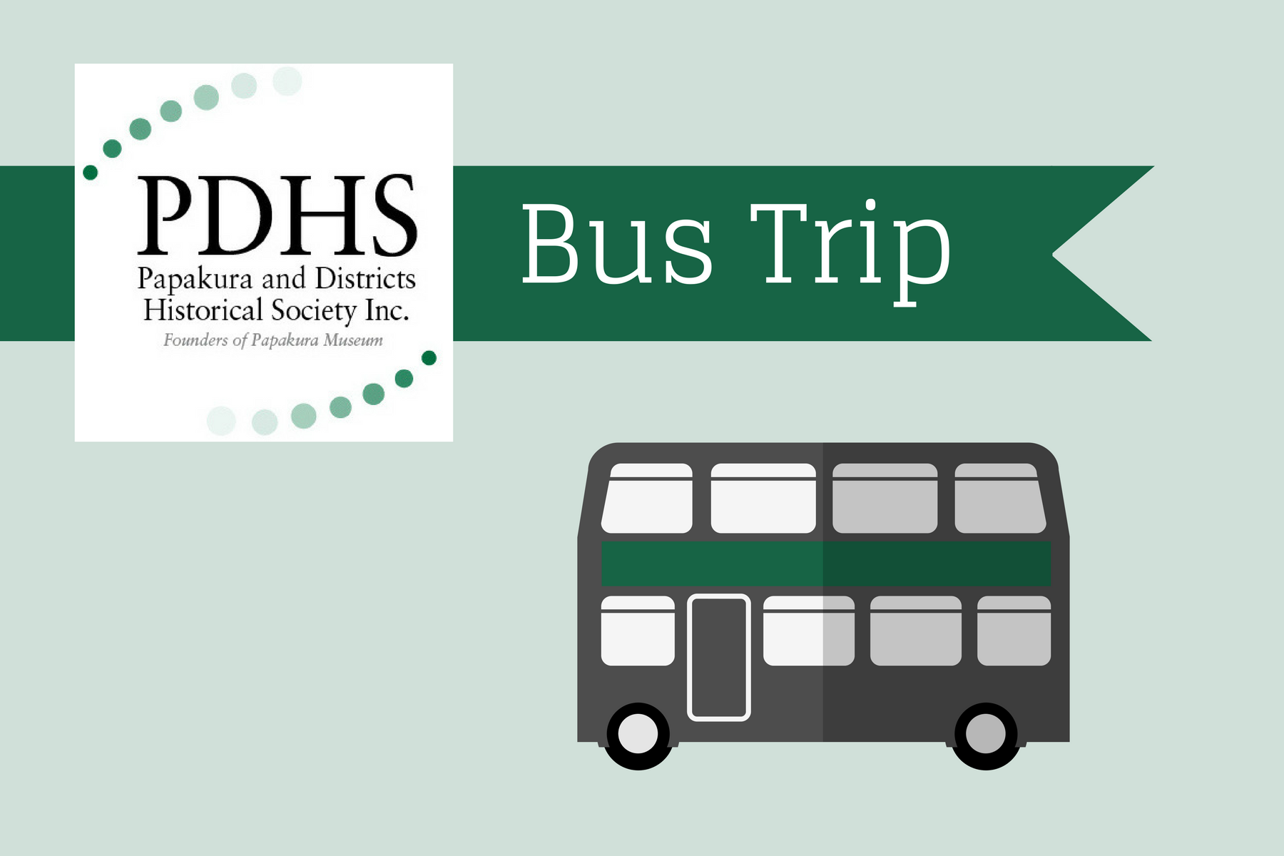 image for PDHS March Bus Trip