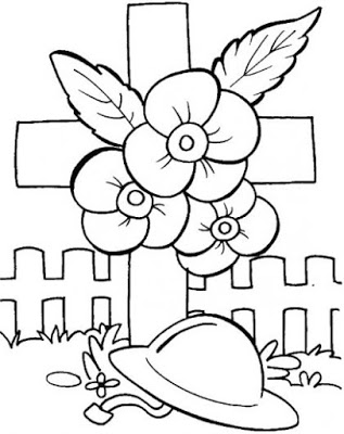 image for WWI Colouring In